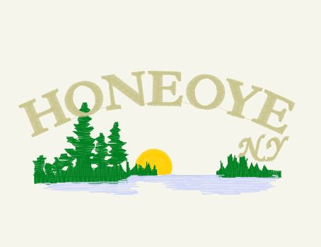 Honeoye Lake Fish Deer  Pine Trees Finger Lakes Gifts Discover Retail  for sale