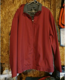 Charles River xxlarge red mid weight coat