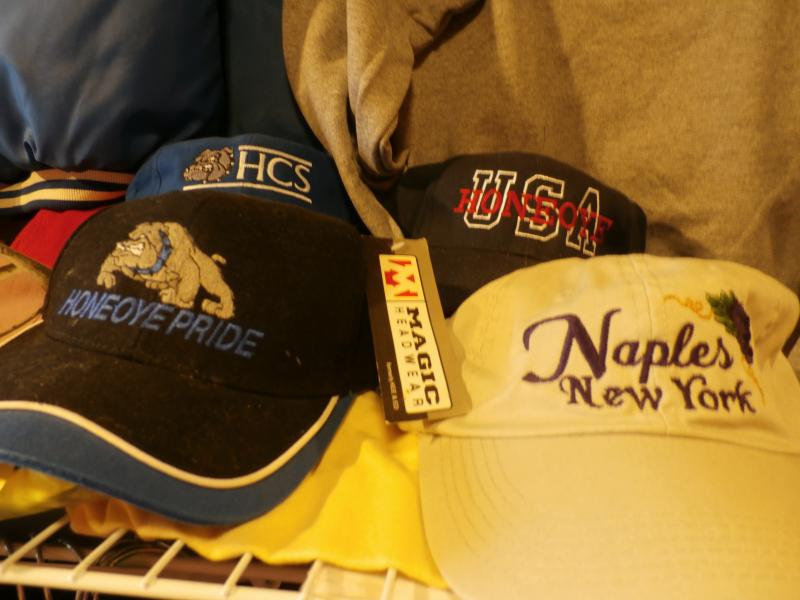 Maples Honeoye Bloomfield South Bristol Canandaigua Avon Victor Madedon Caps