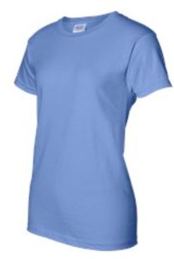 hva HVA.ORG LADIES TSHIRT IN blue